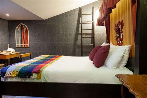 chambre familiale londres qui veut dormir dans cette étonnante chambre harry potter