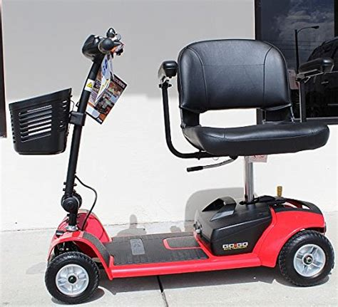 pride go go ultra sc44x 4 wheel electric travel scooter for adults 12ah battery