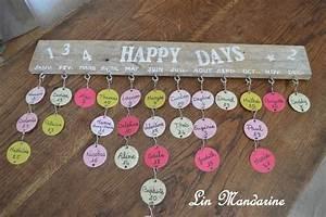 Tuto Bricolage Bois : tuto calendrier d 39 anniversaire inspiration bricolage craft pinterest sons crochet and ~ Melissatoandfro.com Idées de Décoration