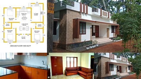 square feet  bedroom single floor  cost house  plan home pictures