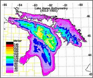 Great Lakes Bathymetry And Shoreline Data Noaa Great