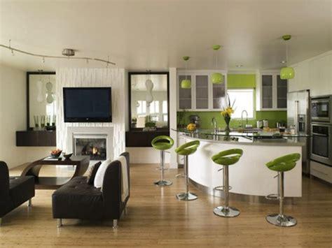 salon cuisine design dcoration cuisine ouverte decoration amenagement cuisine