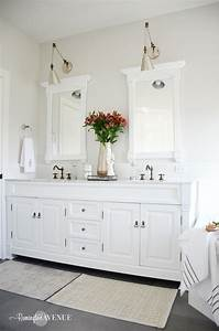 One Room Challenge Bright White Master Bathroom Final