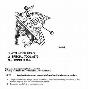 On My 3 7 V6 Engine There Are 2 Plated Timing Chain Link