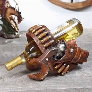 Gun, Holster, Wine, Bottle, Holder