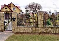 front yard fence ideas Design Ideas for Your Fence, Front Yard and Backyard Designs
