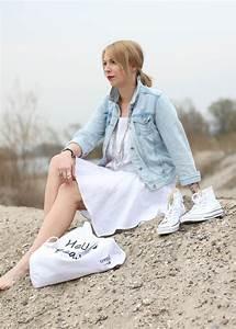 Kleid Mit Jeansjacke : fashionblogger karlsruhe outfit strand weisses kleid jeansjacke lederchucks 14 lavie deboite ~ Frokenaadalensverden.com Haus und Dekorationen