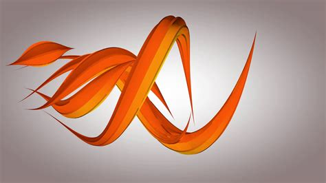 Abstract Orange Shapes by Abstract Orange Shapes Evolving Science And