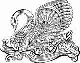 Coloring Behance Kaisercraft Flamingo Elephant Newsite Prod Mandala Adult sketch template