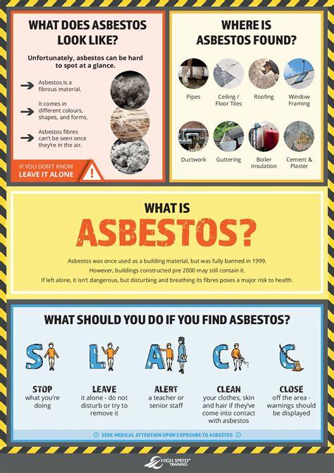 asbestos  schools  poster  teachers students