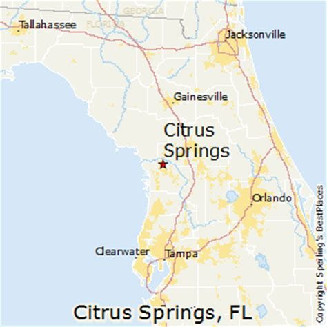 places    citrus springs florida