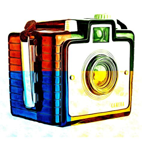 Box Camera Pop Art 3 Photograph By Edward Fielding