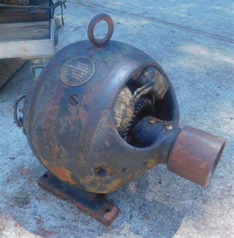 Vintage Electric Motor by Www Antiqbuyer Past Sales Archive Antique Electric Motors