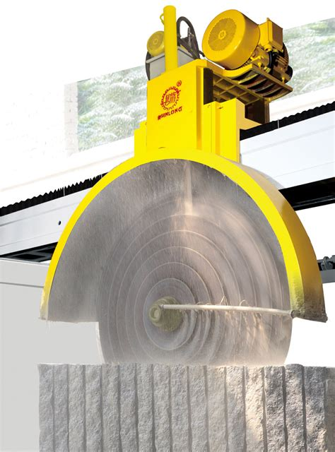 bridge multiblade block cutter bridge block cutting