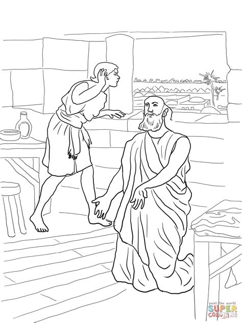 Naaman Coloring Pages Coloring Home