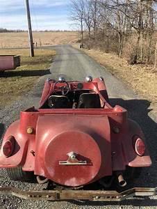 1966 Volkswagen Dune Buggy Convertible Red Rwd Manual Dune