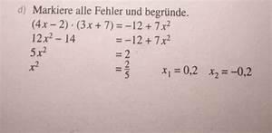 Fehler Des Mittelwertes Berechnen : gleichung quadratische gleichungen erg nzen fehler finden mathelounge ~ Themetempest.com Abrechnung