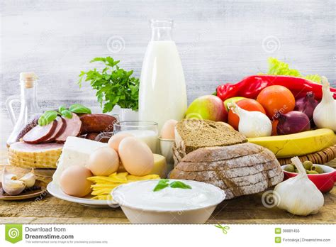 composition cuisine composition food products table stock photo image 38881455