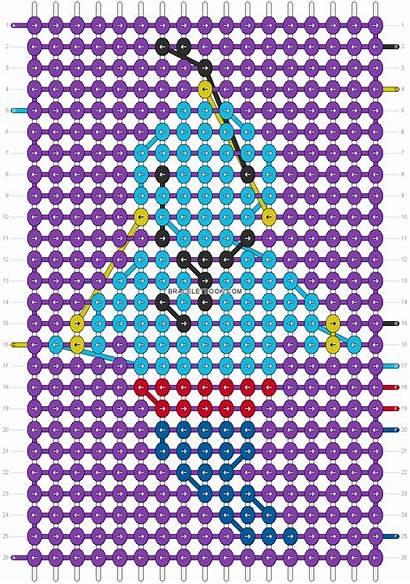Alpha Bracelet Patterns Friendship Pattern Bracelets Disney