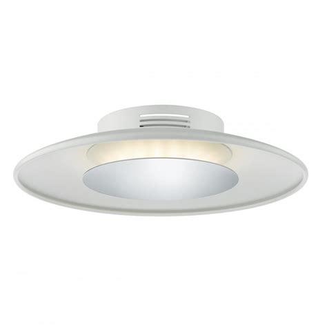 dar lighting worcester single light small led flush