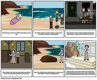 Mary Anning Storyboard
