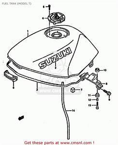 Suzuki Gs500e 1991  M   E01 E02 E04 E15 E16 E17 E21 E22