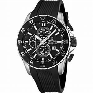 Montre De Sport Homme : montre festina contact silk f16642 3 montre sport noire ~ Melissatoandfro.com Idées de Décoration