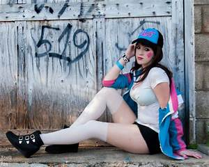 DVa From Overwatch Casual Cosplay