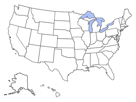 blank map   united states  printable maps