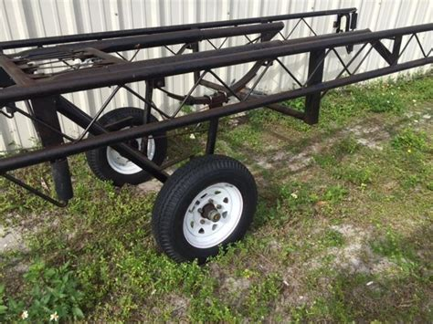 Used Pontoon Boat Trailers In Florida by Hoosier Pontoon Trailer 2004 For Sale For 600 Boats