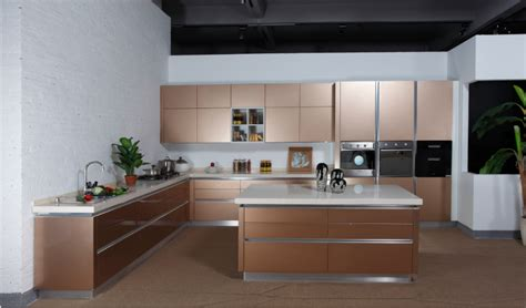 high gloss mdf marble top fiber kitchen cabinet