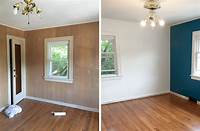 how to paint paneling How to Paint Wood Paneling – Curated Couple