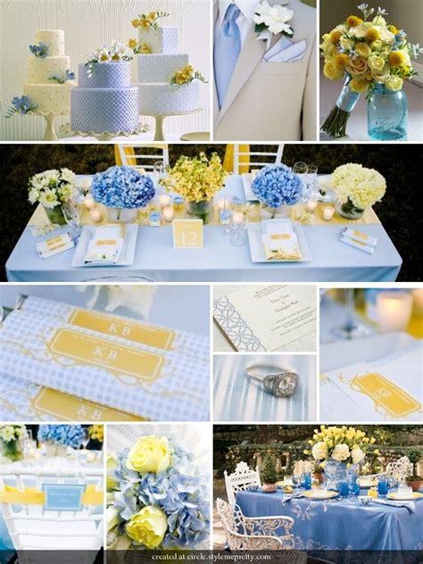 sky blue and yellow wedding my wedding