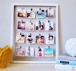 Fabriquer Un Cadre Photo : p le m le photos faire soi m me un cadeau personnalis ~ Dailycaller-alerts.com Idées de Décoration