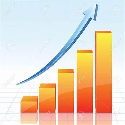 Forecast Clip Clipart Orange Graph Growth Chart