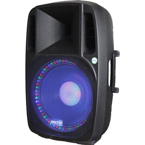 britelite irocker portable bluetooth dj speaker  led
