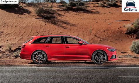 Audi Rs6 Avant 2017 Prices And Specifications In Uae