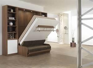 meuble lit monsieur meuble tugas beziers With lit placard canapé