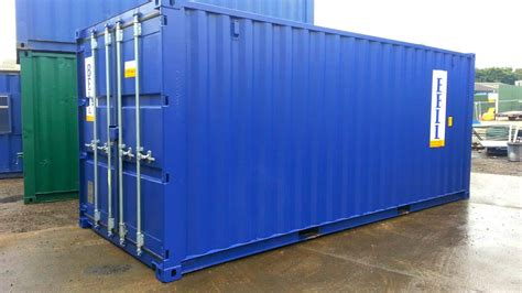 single   trip ft iso steel storage containers