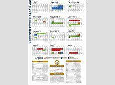 Teacher Resources 2018 2019 District Staff Calendar