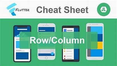 Flutter Row Column Container Sheet Cheat Medium