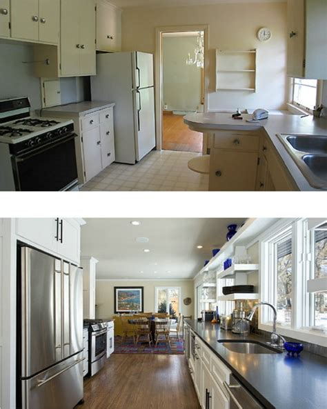 Kitchen Floor Plans And After by Kitchen Before And After