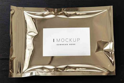 Psd file consists of smart objects. Resealable Metallic Packaging Bag Mockup » CSS Author
