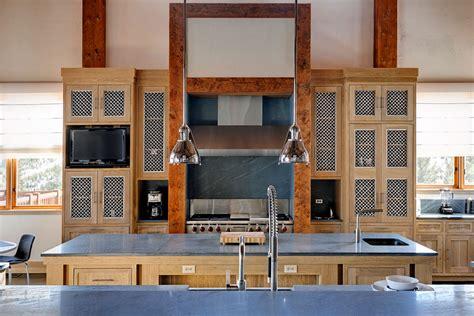 Big Sky Residence Mesh Kitchen Cabinet