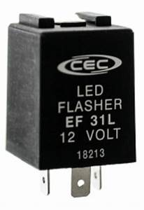 3 Prong Led Compatible Turn Signal Flasher Relay Ef31l