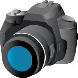 DSLR Camera Clip Art