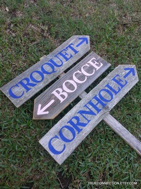 croquet game wedding google search  images