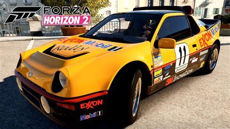 FORZA HORIZON 2 #39 | Ford RS200 Evolution 1985 | XBOX ONE ...