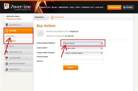 how to buy in how to buy airtime online