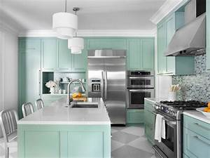 Color, Ideas, For, Painting, Kitchen, Cabinets, Hgtv, Pictures